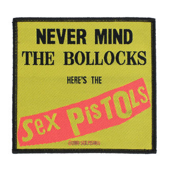 nášivka Sex Pistols - Nevermind The Bollocks - RAZAMATAZ, RAZAMATAZ, Sex Pistols
