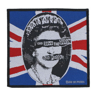 nášivka Sex Pistols - God Save The Queen - RAZAMATAZ - SPR2988