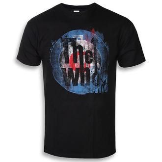 tričko pánské The Who - Target Texture - ROCK OFF, ROCK OFF, Who