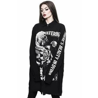 košile s dlouhým rukávem unisex KILLSTAR - Dead Rose, KILLSTAR