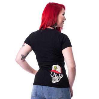 tričko dámské Cupcake Cult - DEATH CLUB - BLACK