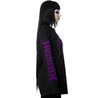 tričko dámské s dlouhým rukávem KILLSTAR - Death is Certain - BLACK - KSRA001593