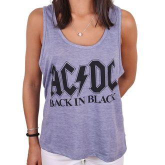 tílko dámské AC/DC - BACK IN BLACK - LEGEND