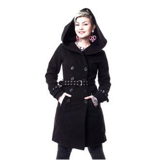 kabát dámský VIXXSIN - DECAY - BLACK, VIXXSIN