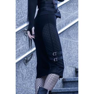 sukně dámská KILLSTAR - Decibel Midi - BLACK - KSRA001648