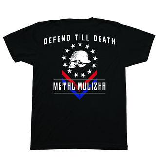 tričko pánské METAL MULISHA - DEFEND - BLK