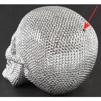 dekorace Skull - Silver - 78/5744 - POŠKOZENÁ