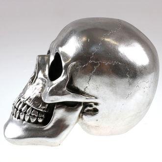 dekorace Skull - Silver - 78/5742 - POŠKOZENÁ