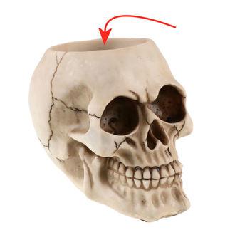 držák na láhev (dekorace) Skull - 78/5733 - POŠKOZENÝ