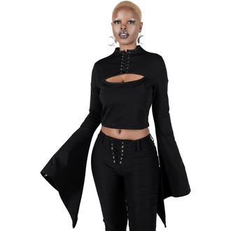 tričko dámské (top) s dlouhým rukávem KILLSTAR - Demon Darling - Black, KILLSTAR