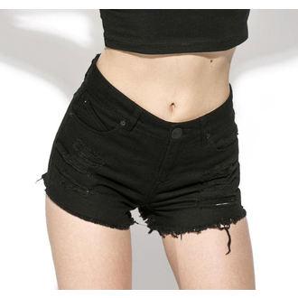 kraťasy dámské (šortky) BLACK CRAFT - Midnight Denim