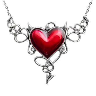 obojek ALCHEMY GOTHIC - Devil Heart Genereux, ALCHEMY GOTHIC