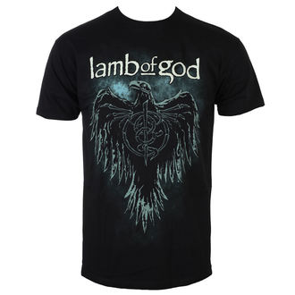 tričko pánské Lamb Of God - Phoenix - Black - ROCK OFF - LAMBTS02MB