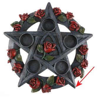 svícen Pentagram Rose - NEM5185 - POŠKOZENÝ