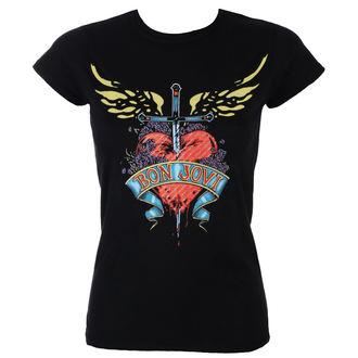 tričko dámské BON JOVI - HEART & DAGGER - PLASTIC HEAD, PLASTIC HEAD, Bon Jovi