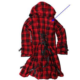 kabát dámský POIZEN INDUSTRIES - Alice - Red - POŠKOZENÝ, POIZEN INDUSTRIES