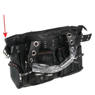 kabelka (taška) POIZEN INDUSTRIES - EVE - BLACK - POŠKOZENÁ, POIZEN INDUSTRIES