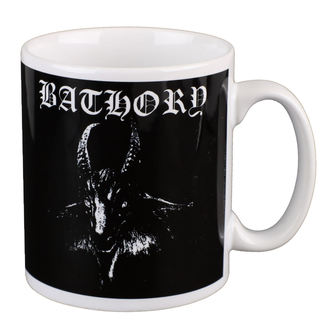 hrnek BATHORY - GOAT - White - PLASTIC HEAD, PLASTIC HEAD, Bathory