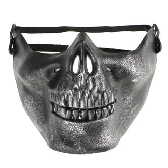 maska POIZEN INDUSTRIES - Skull - Black, POIZEN INDUSTRIES