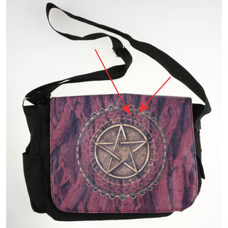 taška Pentagram - Red - B0572B4 - POŠKOZENÁ, Nemesis now