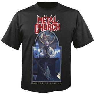 tričko pánské METAL CHURCH - Damned if you do - NUCLEAR BLAST, NUCLEAR BLAST, Metal Church