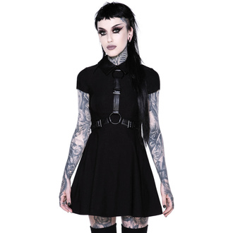 šaty dámské KILLSTAR - Disgrace Skater Dress - BLACK - KSRA002146