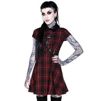 šaty dámské KILLSTAR - Disgrace Skater Dress - TARTAN - KSRA002145