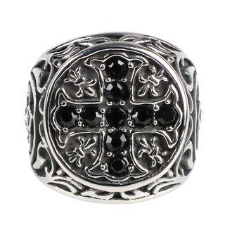 prsten ETNOX - Crystal Cross, ETNOX