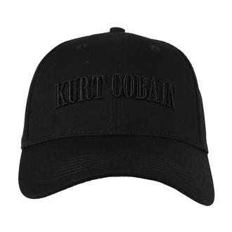 kšiltovka Kurt Cobain - Logo - ROCK OFF, ROCK OFF, Nirvana