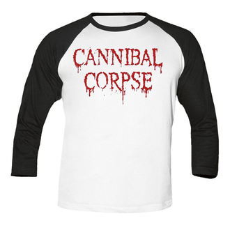 tričko pánské s 3/4 rukávem CANNIBAL CORPSE - Dripping logo BASEBALL - NUCLEAR BLAST, NUCLEAR BLAST, Cannibal Corpse