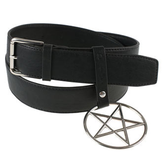 pásek DISTURBIA - RING PENTAGRAM , DISTURBIA