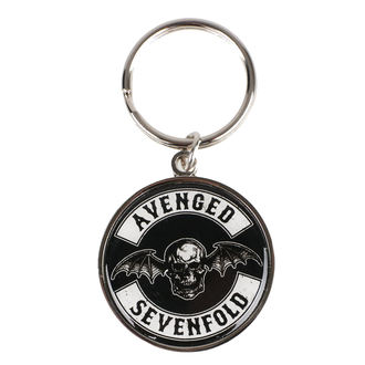 klíčenka (přívěšek) Avenged Sevenfold - Deathbat - ROCK OFF, ROCK OFF, Avenged Sevenfold