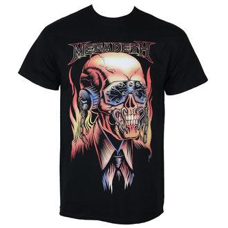 tričko pánské MEGADETH - FLAMING VIC - PLASTIC HEAD, PLASTIC HEAD, Megadeth