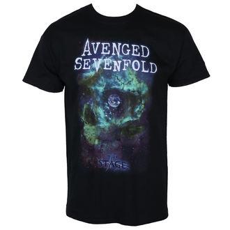 tričko pánské AVENGED SEVENFOLD - SPACE FACE - PLASTIC HEAD