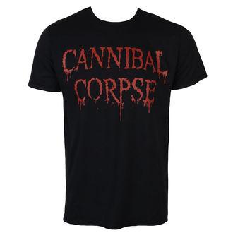 tričko pánské CANNIBAL CORPSE - DRIPPING LOGO - PLASTIC HEAD, PLASTIC HEAD, Cannibal Corpse