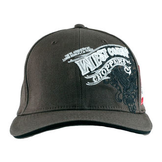 kšiltovka West Coast Choppers - WINGS - Anthracite, West Coast Choppers