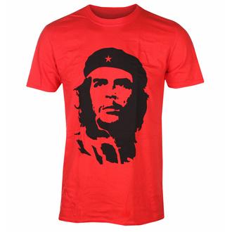 tričko pánské Che Guevara - Black On Red - RED - ROCK OFF, ROCK OFF, Che Guevara