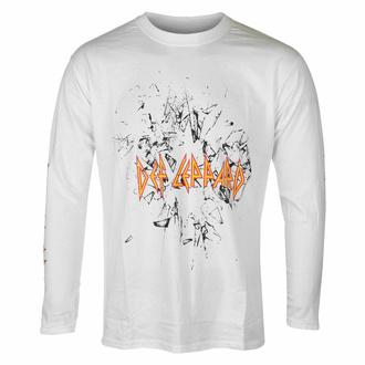 tričko pánské s dlouhým rukávem Def Leppard - Shatter - Black - ROCK OFF, ROCK OFF, Def Leppard