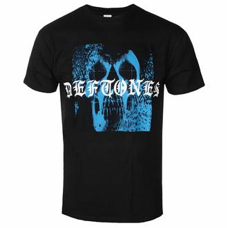 tričko pánské Deftones - Static Skull - Black - ROCK OFF, ROCK OFF, Deftones