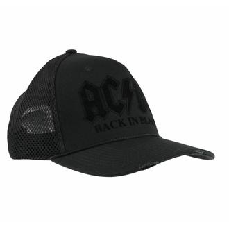 kšiltovka AC/DC - BACK IN BLACK - AMPLIFIED, AMPLIFIED, AC-DC