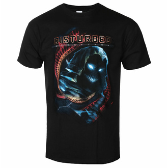 tričko pánské Disturbed - DNA Swirl - Black - ROCK OFF, ROCK OFF, Disturbed