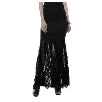 sukně dámská PUNK RAVE - Opium - black, PUNK RAVE