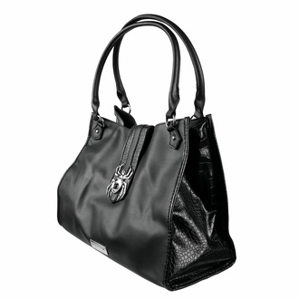 kabelka (taška) KILLSTAR - Black Widow - Black, KILLSTAR