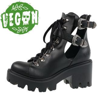 boty dámské ALTERCORE - Sadie Vegan - Black - ALT029