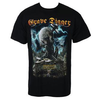 tričko pánské GRAVE DIGGER - EXHUMATION CLAN - JSR, Just Say Rock, Grave Digger
