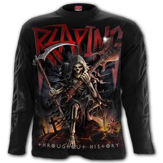 tričko pánské s dlouhým rukávem SPIRAL - REAPING TOUR - Black, SPIRAL