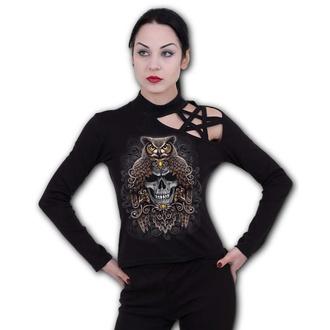 tričko dámské s dlouhým rukávem SPIRAL - DEATH WISDOM - Pentagram - L047F477