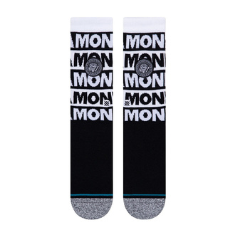ponožky RAMONES - BLACK - STANCE, STANCE, Ramones