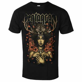 tričko pánské Pentagram - Priestess - Black - INDIEMERCH, INDIEMERCH, Pentagram