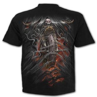 tričko pánské SPIRAL - BIKE LIFE - Black - T172M101
